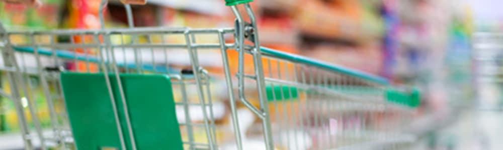 nákupný košík, vo význame optimalizácia v predajniach Billa