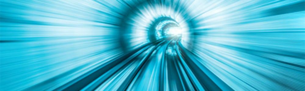 nekonečný digitálny tunel vo význame digitálna archivácia